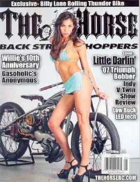 The Horse Backstreet Choppers Magazine - Issue 119