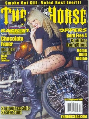 The Horse Backstreet Choppers Magazine - Issue 122