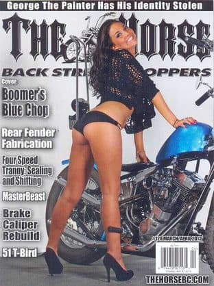 The Horse Backstreet Choppers Magazine - Issue 128