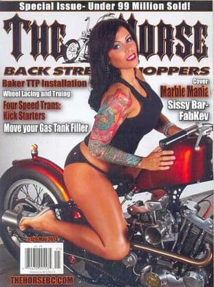 The Horse Backstreet Choppers Magazine - Issue 129