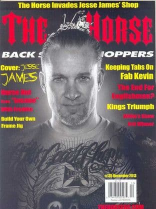 The Horse Backstreet Choppers Magazine - Issue 135