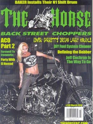 The Horse Backstreet Choppers Magazine - Issue 138