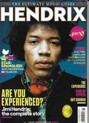 Ultimate Music Guide From Uncut Magazine - Issue Jimmy Hendrix