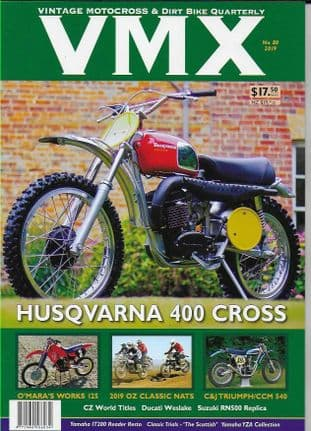 Vmx Magazine - Issue 80 (Featuring Husqvarna 400 Cross)