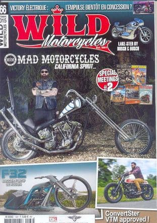 Wild Motorcycles Magazine - Issue 166 / September 2015