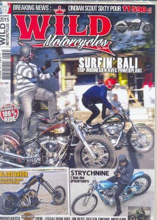 Wild Motorcycles Magazine - Issue 169 / December 2015