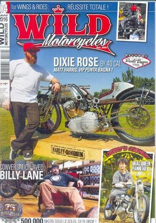 Wild Motorcycles Magazine - Issue 174 / May 2016