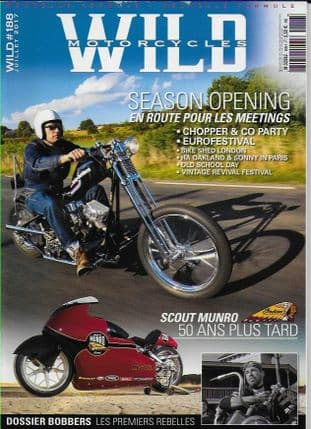 Wild Motorcycles Magazine - Issue 188 / July 2017