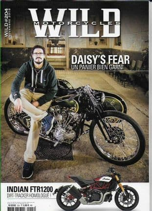 Wild Motorcycles Magazine - Issue 204