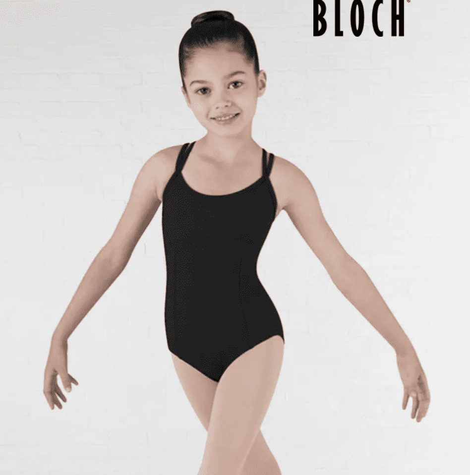 Bloch Dolly Double Cross Back Camisole Leotard