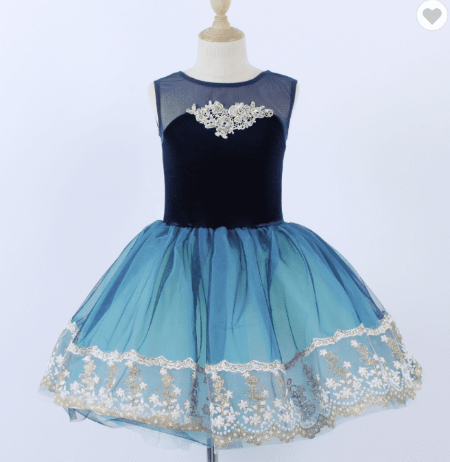 enpointe chiffon ballet dress
