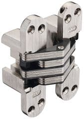 SOSS 218NP 30min Fire Rated Concealed Hinge Nickel Plated