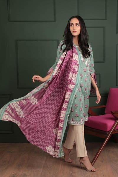 Sapphire - Gulbano 2 Piece Lawn Outfit