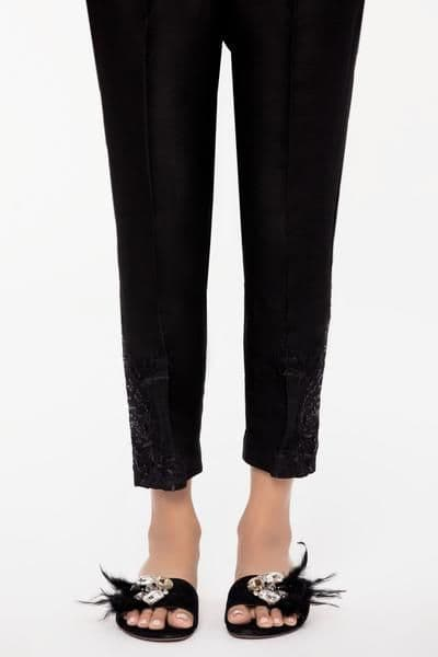 Sapphire - Sparkle Black Pencil Trousers