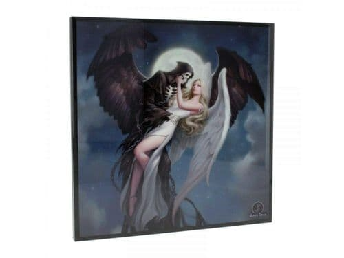 ***Angel and Reaper Glass Picture WAS £20