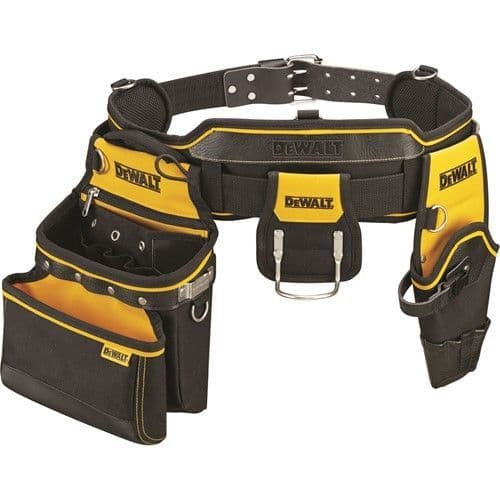 DEWALT DWST1-75552 Heavy Duty Tool Belt, Pouch and Hammer Loop