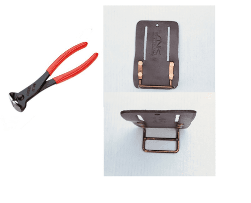 KNIPEX 6801200 END CUTTING NIPPERS WITH KNIP HOLDER
