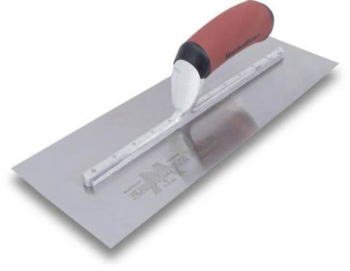 """Marshall townMXS25SSD 20"""" X 5"""" Bright Stainless Steel Finishing Trowel"""