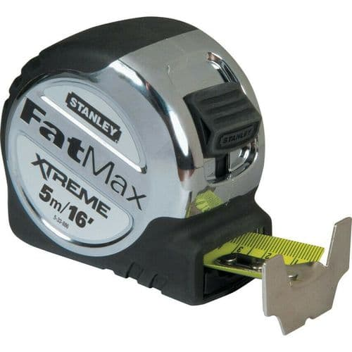 STANLEY 0-33-886  5MTR/16' FATMAX  XTREME - METRIC/IMPERIAL TAPE MEASURE