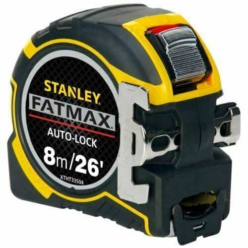STANLEY XTHT0-33504  8MTR METRIC/IMPERIAL ONLY FATMAX AUTOLOCK TAPE MEASURE