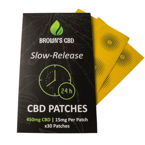 CBD PATCHES - 30 X 15MG - 450MG CBD