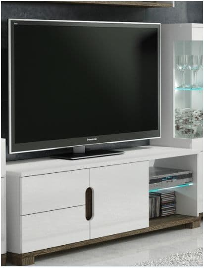 Costa TV unit White Gloss P9RXLS63 - 2579
