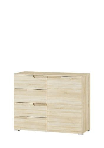 Santino Sonoma Oak Narrow Sideboard S5 - 2983