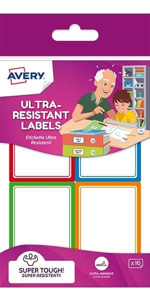 Ultra Resistant Labels