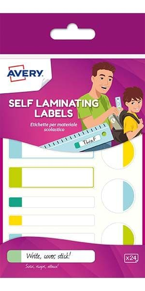 Waterproof Self-Laminating Labels