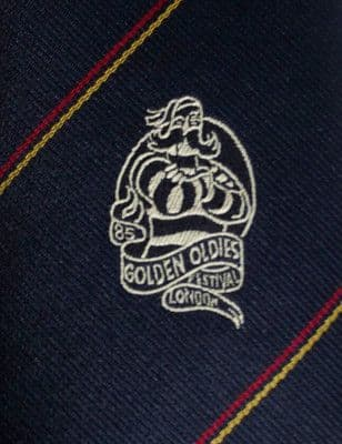 ANZ Golden Oldies Festival tie London 1985 Rugby