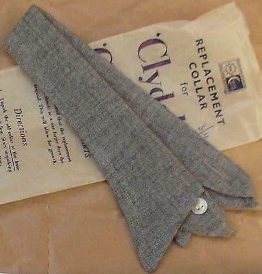 Boys shirt collar School uniform UNUSED Vintage 1950s 1960s Clydella Clydellon