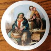 Collectable relish pot sauce pot ceramic Oyster fisherman shellfish picture