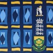 England v South Africa cricket tie Edgbaston 2003 NEW Warwickshire international