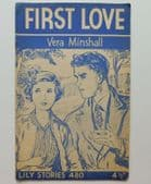 First Love by Vera Minshall The Lily Library 1950s Christian romance booklet