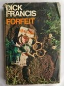Forfeit by Dick Francis 1960s horse racing book Crime novel 1st edition HB 1968