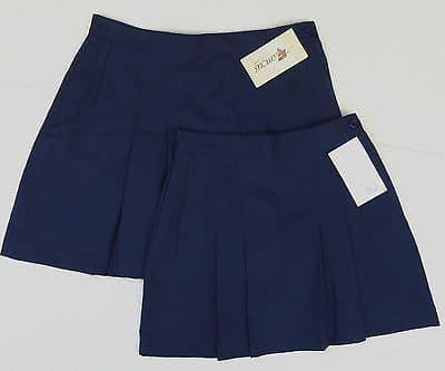 Girls games skirt Pleated SCHOOL SPORTS KIT waist 22 to 28 netball hockey wool mix