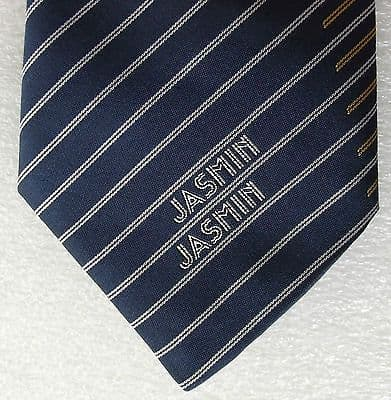 Jasmin Airlines tie Corporate silk tie with logo
