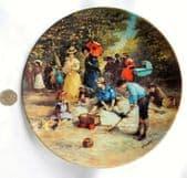 Kaiser Porcelain picture plate Detlev Nitschke Familie Kappelmann Bradex Tuesday