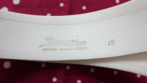 Marconi Metropole shirt collar 15 vintage Edwardian Buckley & Prockter Mumps