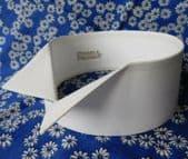 "Rocola wing collar size 14.5 detachable UNUSED vintage shirt collar 2.25"" high"