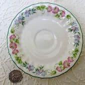 Royal Worcester saucer ENGLISH GARDEN replacement bone china Spares for tea-set