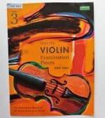 Selected Violin Examination Pieces Grade 3 2001-2004 ABRSM music exam book