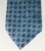 Silk floral check tie Jonelle traditional Italian mens wear John Lewis