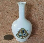 Tuscan crested china vase DOVER town arms ville et portus FAIRY WARE cinque port