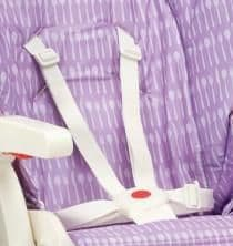 Polly 2 in 1 Five Point Harness Cream