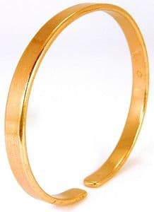 B: Plain Copper Bangle