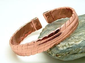 M29: Men's Heavy Copper Magnetic Bracelet