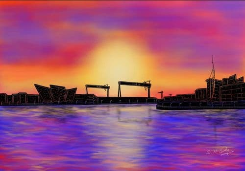 'A Titanic Sunset'  by Stephen McCurdy Art