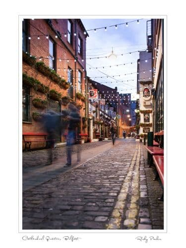 'Belfast Cathedral Quarter' by Ricky Parker Photography