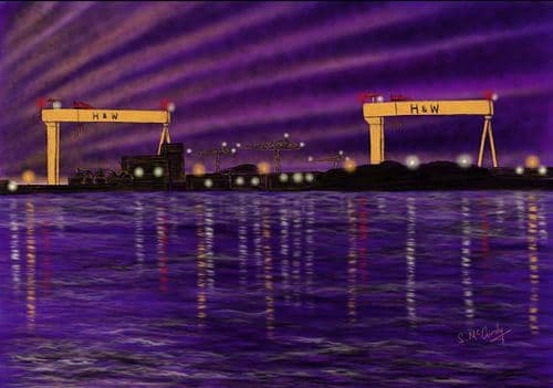 'Lights on the Lough' by Stephen McCurdy Art
